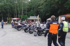 10. En välbesökt och populär mc-rastplats vid Rappbode med mängder av häxor på besök från Brocken.