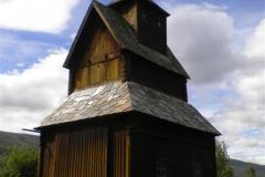 Vad vore Norgeturen utan en gammal stavkyrka? Här en vacker sådan i Torpo som uppfördes redan år 1192!