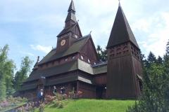 06. Själen skall ha sitt och en pampig stavkyrka i Hahnenklee tyckte vi var ett lämpligt forum.