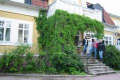 Efter första dagens transportsträcka (45 mil) sov vi gott på Broby Gästgivaregård i Sunne.