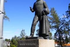 """Eidsvoll var under restaurering inför 200-års-jubiléet av författningen. Vi fick dock träffa Henrik Wergeland som starkt bidrog till den politiska debatten i Norge och betraktades som en """"nationsbyggare"""" av stor betydelse."""