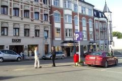 Vårt fredagsmys fick vi tillgodosett på Hotell Grand i Gjövik. Bra boende, trevlig miljö och mängder med festglada norrmän.