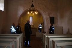 05. Interiör från den lilla bondkyrkan intill den stora klosterkyrkan.