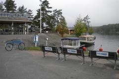 12. I Torpöns hamn erbjuds sigth-seeingturer i eldrivna båtar.